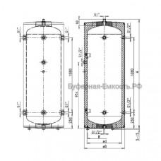 Теплоаккумулятор Drazice NAD 750 v1