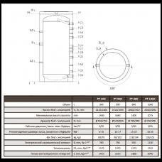 Теплоаккумулятор Ecosystem P 1000