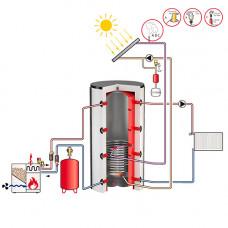 Теплоаккумулятор для отопления и ГВС