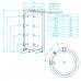 Буферная емкость - теплоаккумулятор Tesy V 1500 120 F45 P4