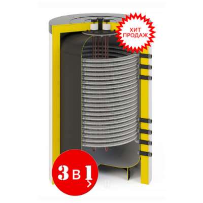 Комбинированная буферная ёмкость тепла Waterman FRESH 200/15 кВт